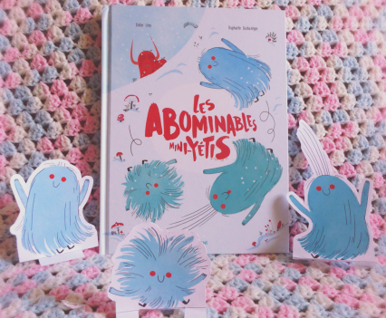 """Les abominables mini Yétis""  Sarbacane -fevrier 2017"