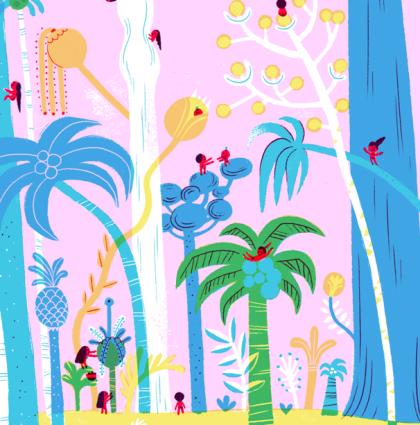 La forêt des tout nus