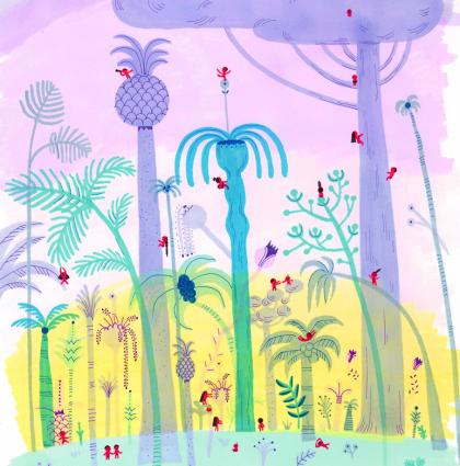 La forêt des gens tout nus