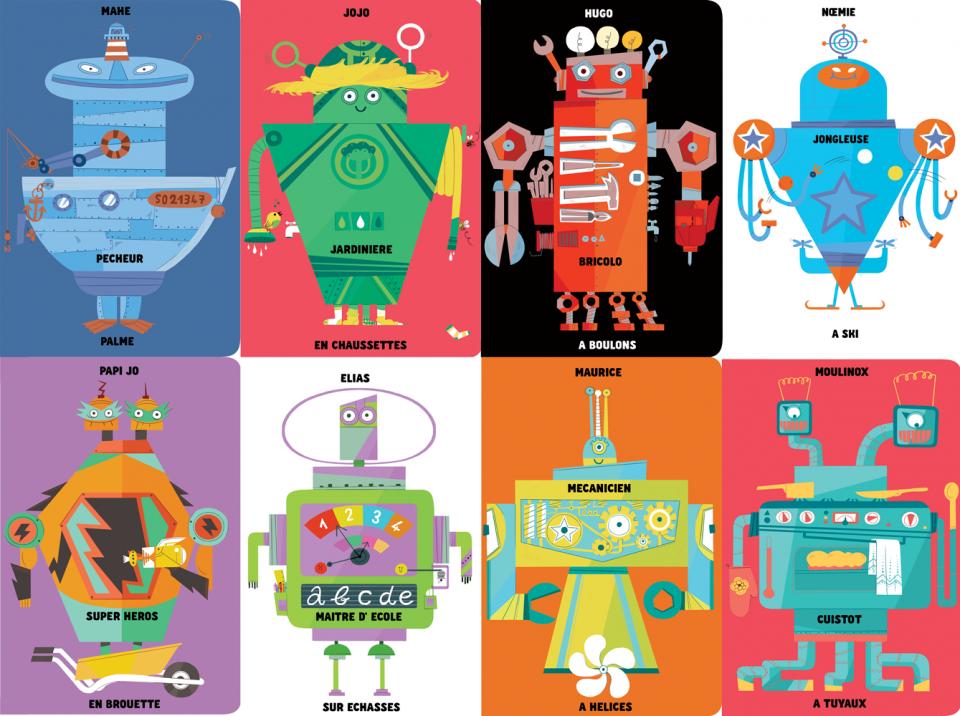 1000 Robots Méli Mélo